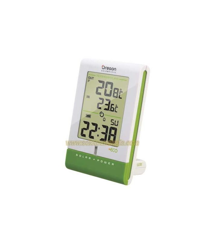 Oregon Scientific RMR331 IS Thermometer wireless with solar panel