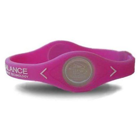 Power Balance Pulsera silicona Rosa Power Balance Plantillas y accesorios Zapatillas Running Tallas: xs, s; Color: rosa