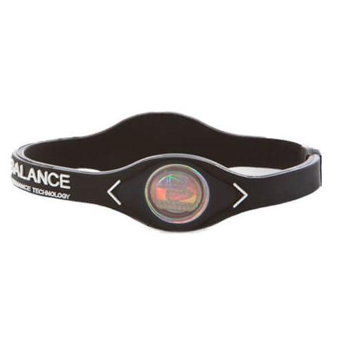 Power Balance Pulsera silicona Negro Power Balance Plantillas y accesorios Zapatillas Running Tallas: s, l; Color: negro
