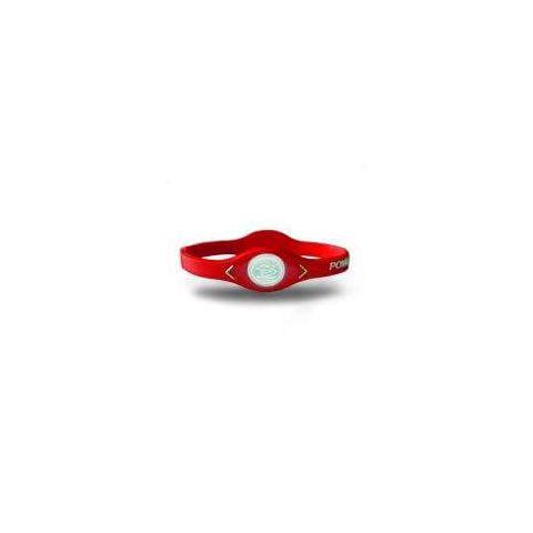 De puissance de Bracelet d'Équilibre de silicone Rouge