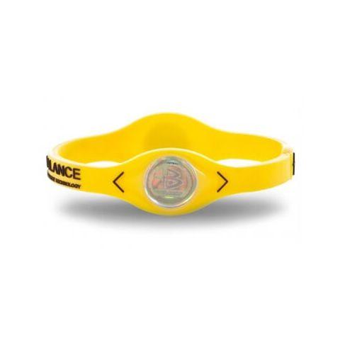 De puissance de Bracelet d'Équilibre de silicone Jaune