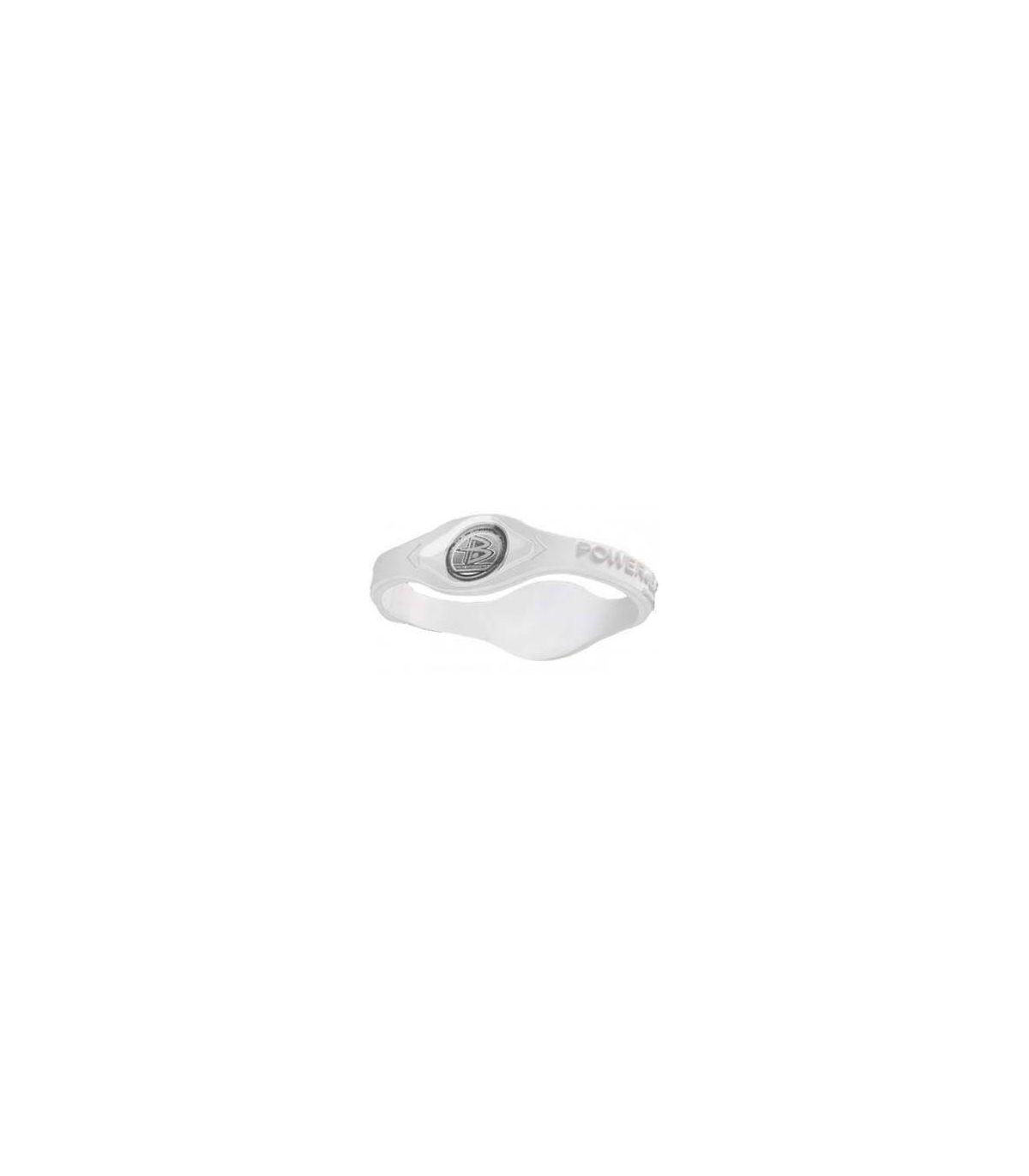 De puissance de Bracelet d'Équilibre de silicone Blanc