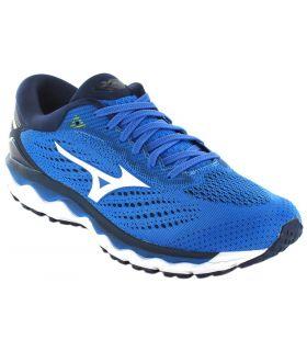 Mizuno Wave Sky 3 Blue Mizuno Running Shoes Man Running Shoes Sizes: 42,5, 44,5, 45; Color: blue