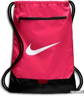 Nike Brasilia GymSack Pink Nike Backpacks - Bags Running Color: fuchsia