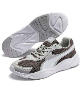 Puma '90s Runner Gris Puma Calzado Casual Hombre Lifestyle