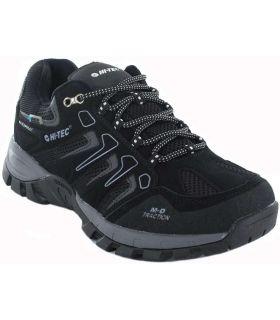 Hi-Tec Torca Low WP Hi-Tec Zapatillas Trekking Hombre Calzado Montaña Tallas: 40, 41, 42, 43, 44, 45, 47; Color: negro