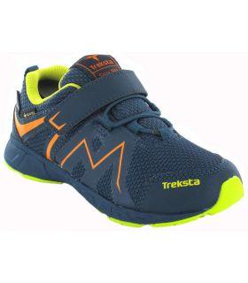 Treksta Speed Low Velcro Blue Gore-Tex